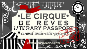 Le Cirque de Rêves: Literary Passport | Literary Destinations | The Night Circus Inspired Candle