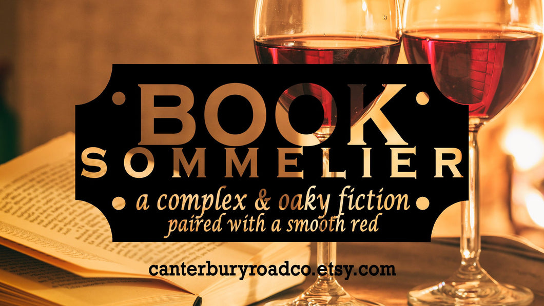 Book Sommelier | Bookish Candle | Candles for Bibliophiles