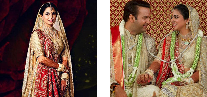 Isha Ambani's bridal henna with her husband Anand Piramal