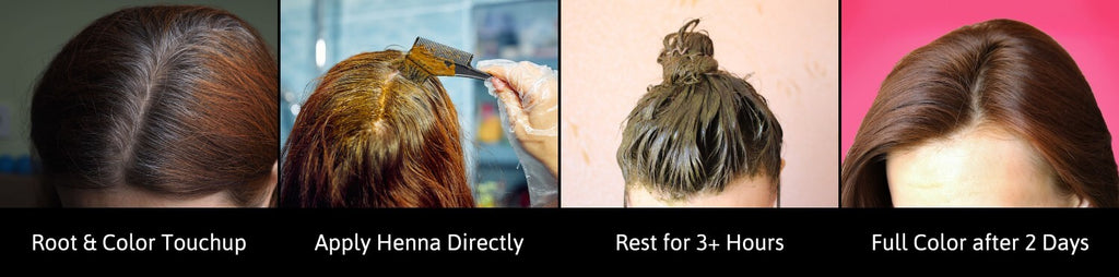 How to Dye Hair with Henna Paste