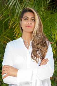 Headshot of Mihenna owner Shalina Jaffer
