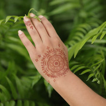 Load image into Gallery viewer, Blossom - mandala henna design in nature