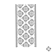 Load image into Gallery viewer, Courage - cuff henna design sticker stencil