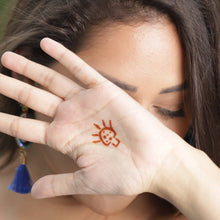 Load image into Gallery viewer, Dare - Brilliant Mushroom temporary tattoos