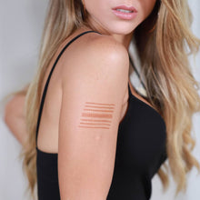 Load image into Gallery viewer, Miami - linear henna design on shoulder