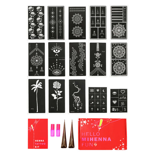 Bachelorette Party Henna Tattoo Kit for a DIY henna night with all your girls