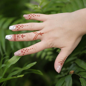 Opal - ring henna designs in nature