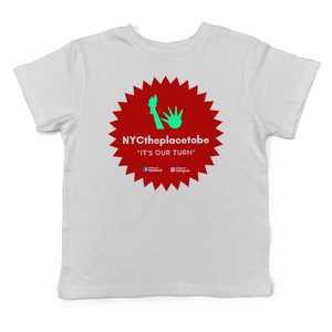 """It's Our Turn"" logo kids youth t-shirt"