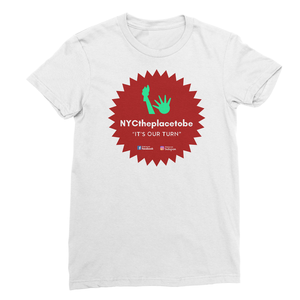 """It's Our Turn"" logo standard Unisex t-shirt"