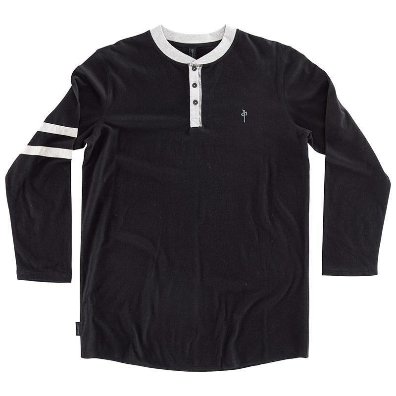 RDS L/S HENLEY STRIPES