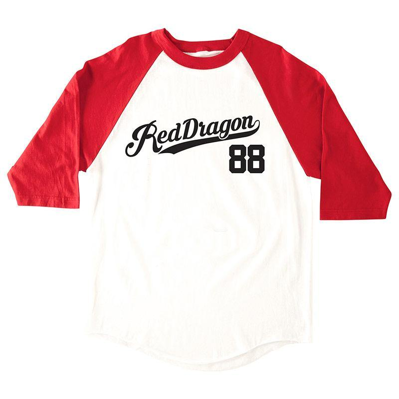 RDS 3/4 SLV THIRD BASE BANGER - Red Dragon Apparel