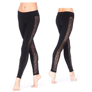 RDS WOMENS TIGHTS HIGH LACE