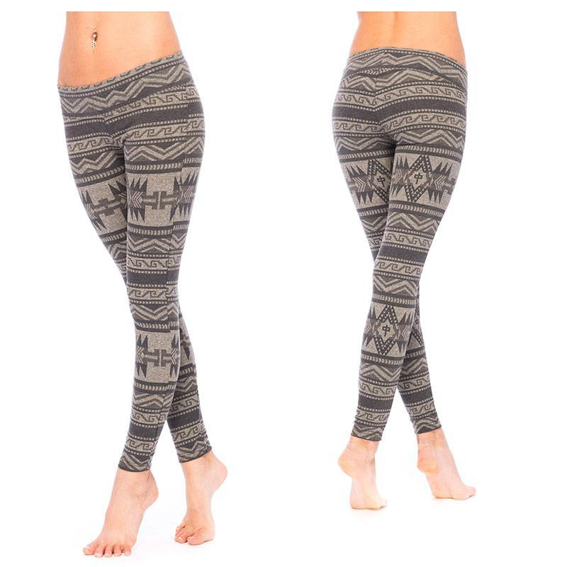RDS WOMENS TIGHTS AZTEC