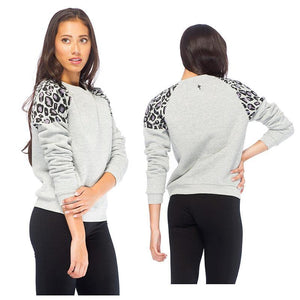 RDS WOMENS CREW LEOPARD