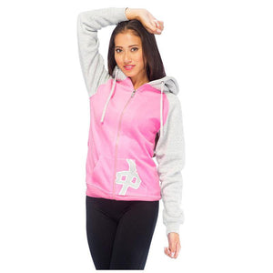 RDS WOMENS ZIP HD PKT RAGLAN