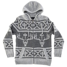 Load image into Gallery viewer, RDS ZIP UP SWEATER SKULL