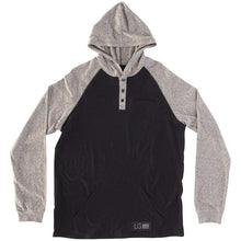 Load image into Gallery viewer, RDS L/S HENLEY POUCH HOODED