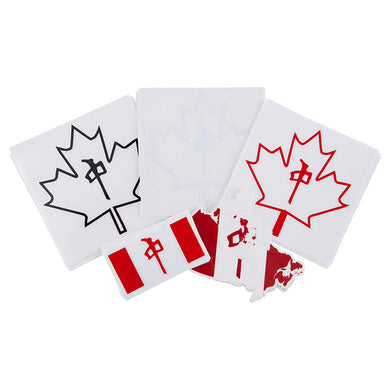 RDS STICKERS CANADIAN 25PK