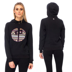 RDS WOMENS HOOD AZTEC POINT
