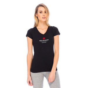 RDS WOMENS V-NECK TEE LX POINT