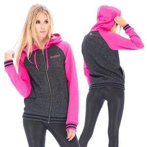 RDS WOMENS ZIP HD WORKMARK RAGLAN