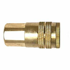 "1/4"" x 1/4"" Air Hose Industrial Coupler Fitting - Female NPT"