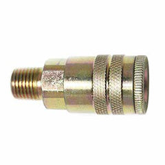 "1/4"" x 1/4"" Air Hose Industrial Coupler Fitting - Male NPT"
