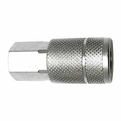"3/8"" x 3/8"" Air Hose Automotive Coupler Fitting - Female NPT"