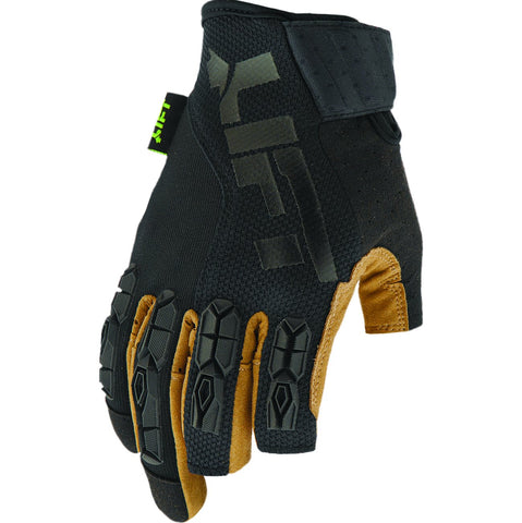 LIFT Safety Framed Gloves - Brown/Black