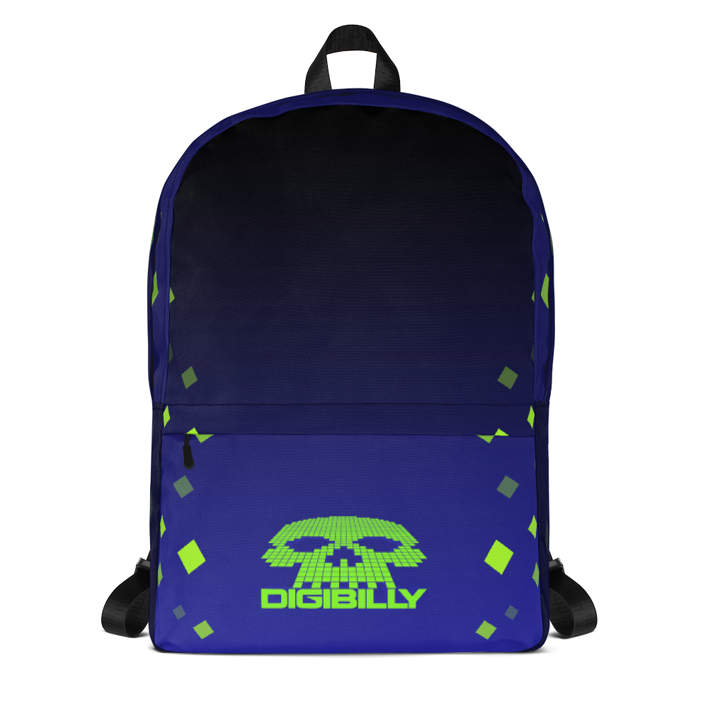 Pixel Backpack - Backpack - Digibilly