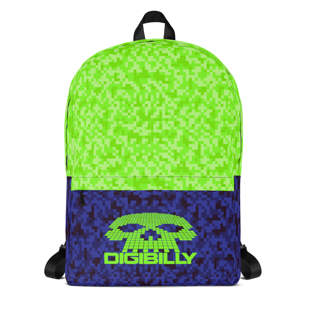 Digi Camo 2-Tone Backpack - Backpack - Digibilly