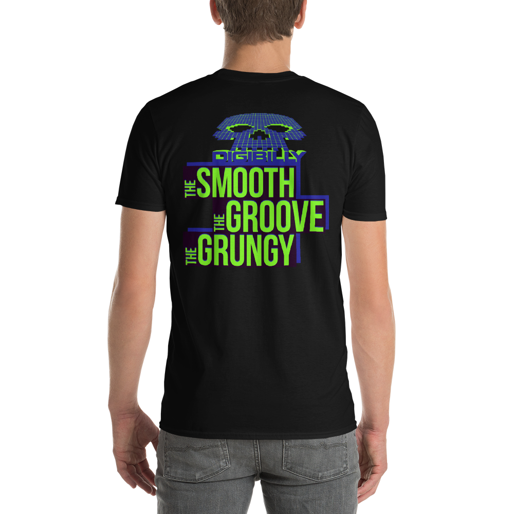Digibilly Shirts Men's The Smooth, The Groove, The Grungy T-shirt