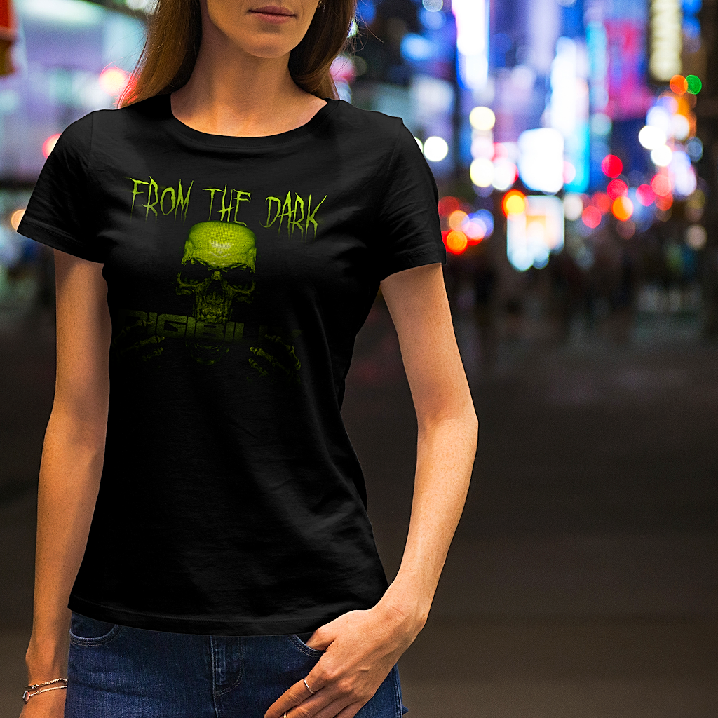 "Women's ""From The Dark"" short sleeve t-shirt - Shirts - Digibilly"