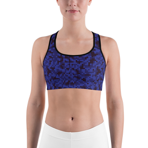 Digi Camo Sports Bra - Shirts - Digibilly