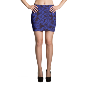 Digi Camo Skirt - Skirt - Digibilly