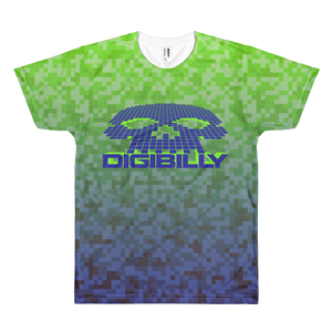 Digi Camo Fade Men's T-shirt -  - Digibilly