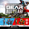 Affordable Gear All Year