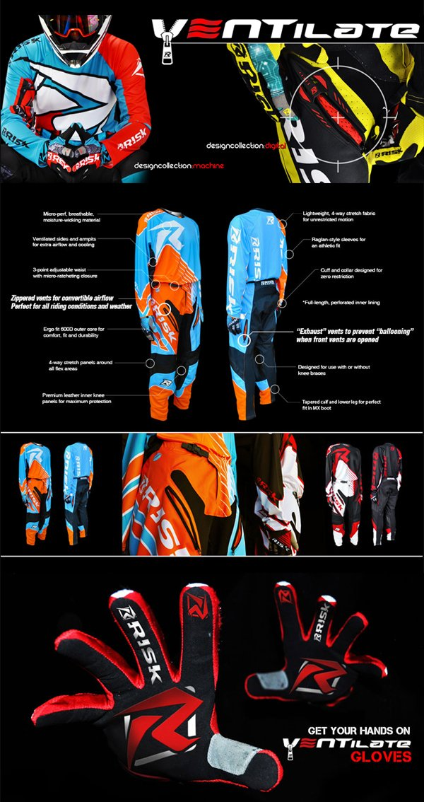 Risk Racing Motocross Gear