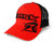 Risk Team Red/Black Curved Brim Snapback - H4