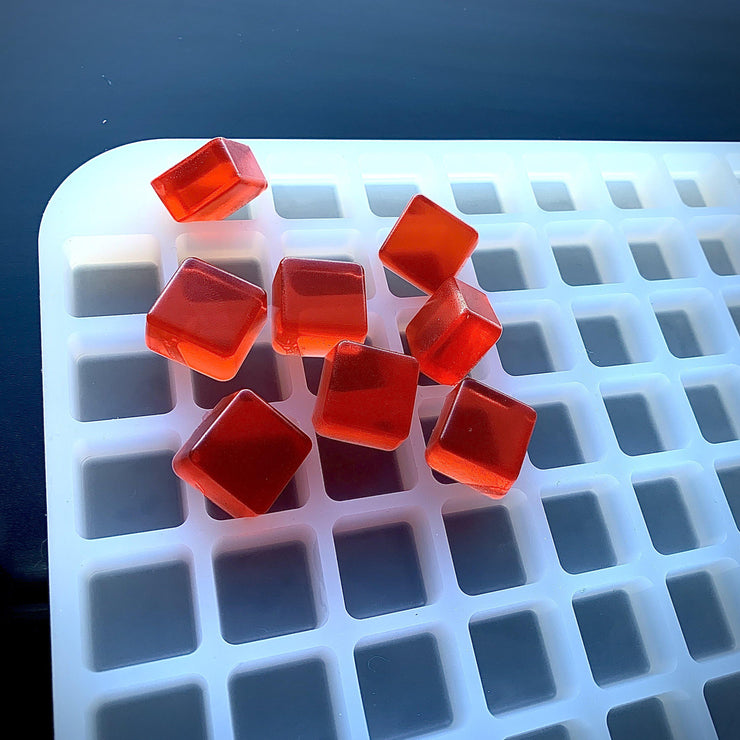 4ml Square Gummy Mold - Half Sheet - 200 Cavity - Vector Molds