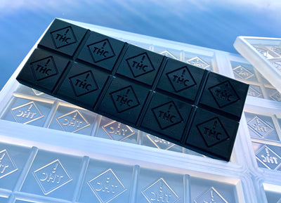 THC Logo silicone chocolate bar mold
