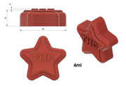THC Star Mold - Small - Half Sheet - 4 mL - 153 Cavities - Vector Molds