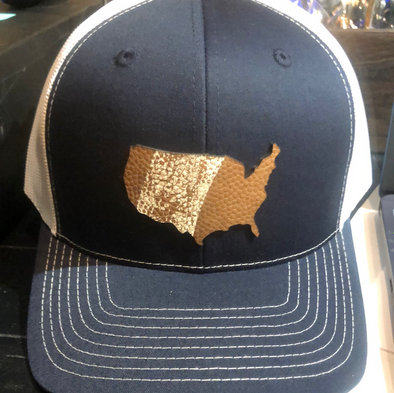 Hide Park America Map Trucker Hat
