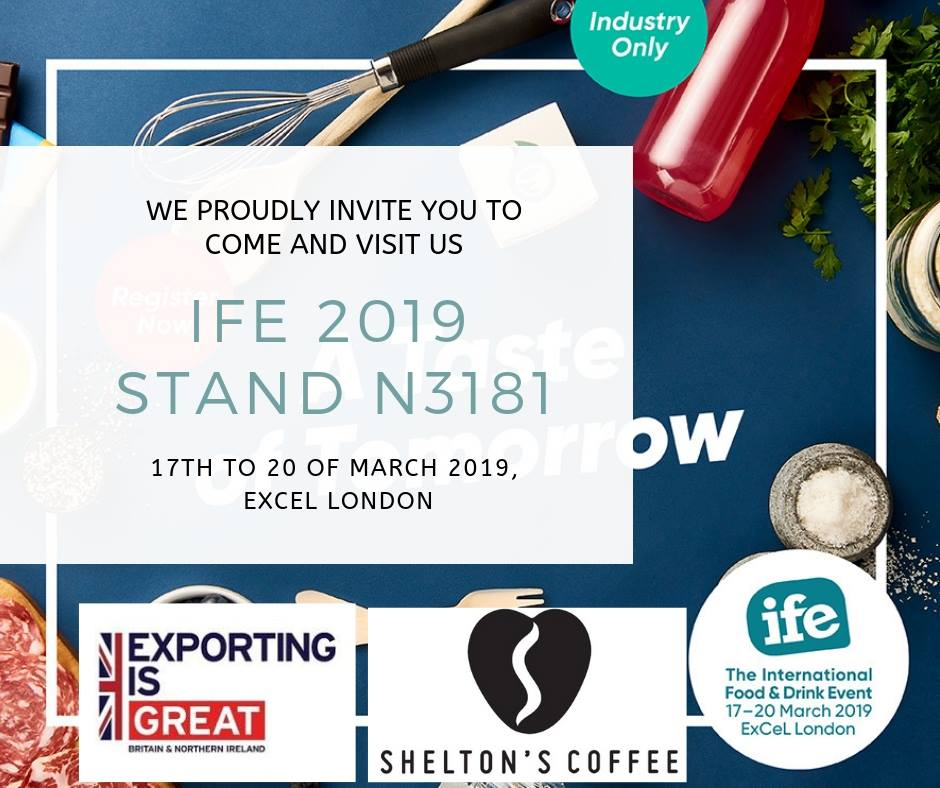 The International Food and Drink Event, London