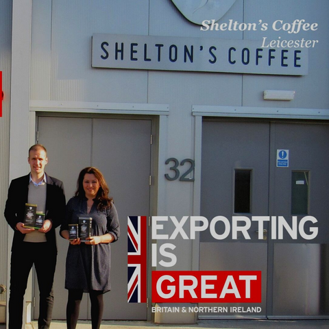 exporting is great shelton's coffee