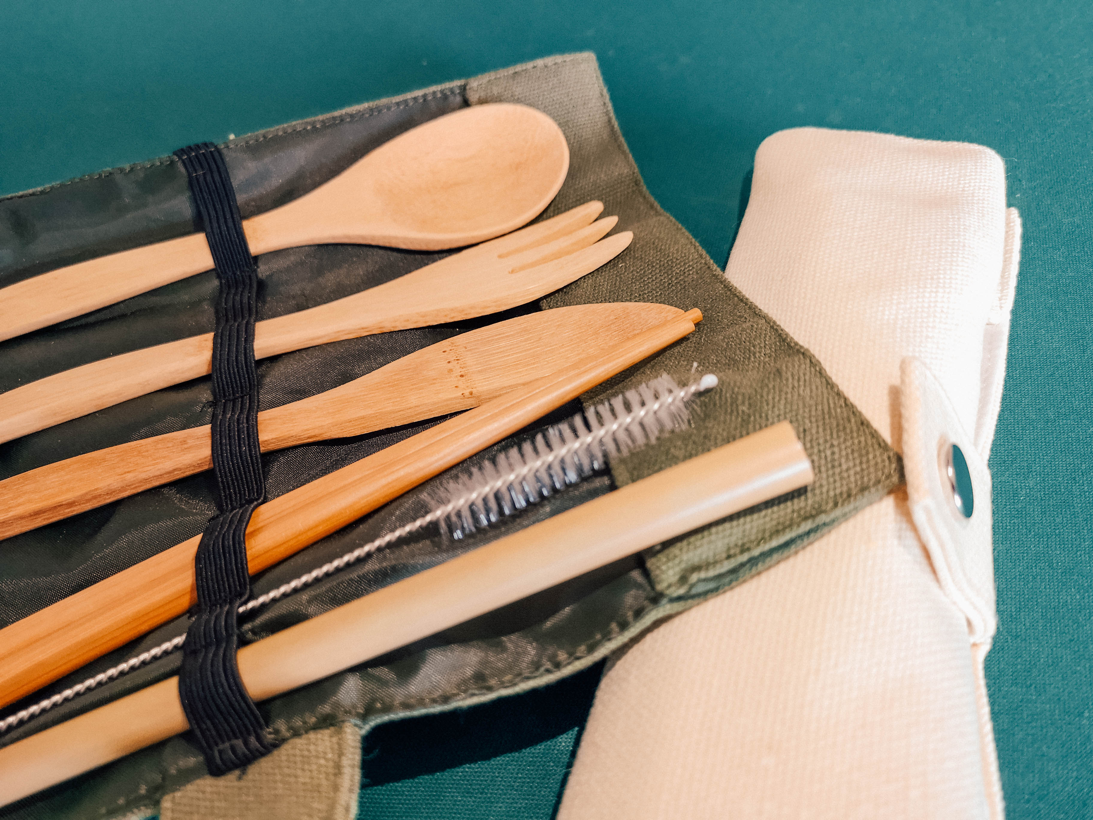 Bamboo Cutlery Set - 6 Pieces