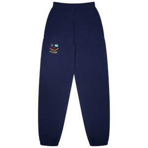 "NAVY AND ""MULTI"" STITCHED FASHAUN JOGGER"