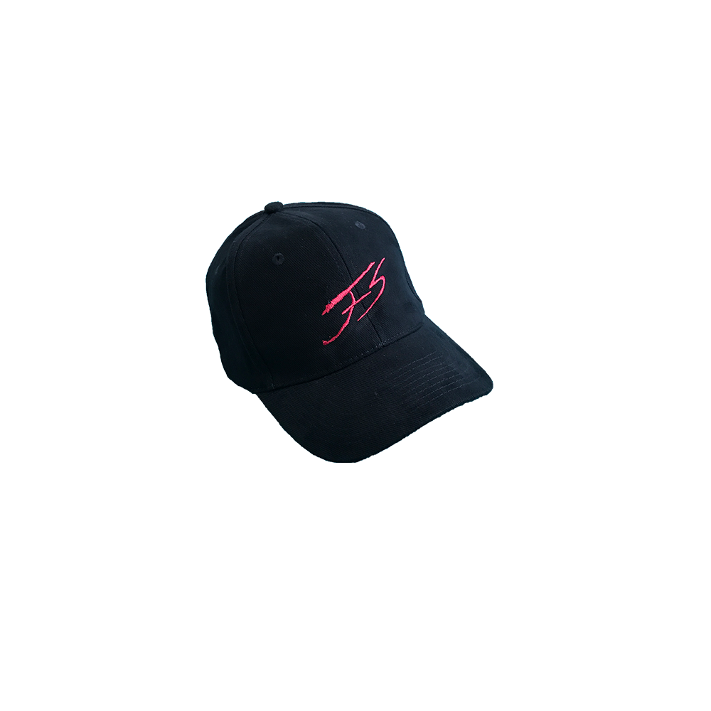 FRENCH NAVY AND PINK SIGNATURE CAP