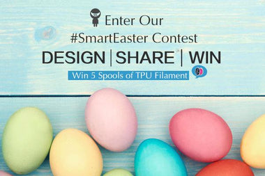 Design and 3D Print a Winner in SainSmart's #SmartEaster Contest