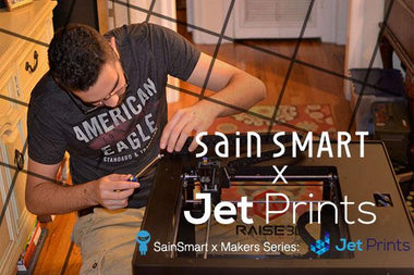 #SainSmart x Makers Series- Interview with JetPrints Founders Jonathan and Matt